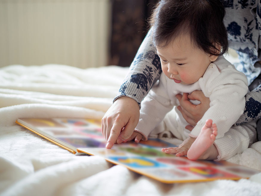 Reading to your child: what's the fuss about? | NCT