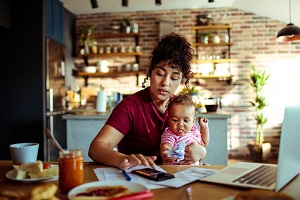 How to juggle working from home with your partner and children