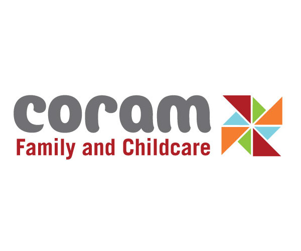 Coram Family and Childcare logo