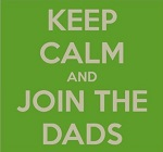 Keep calm and join the dads Oxford image