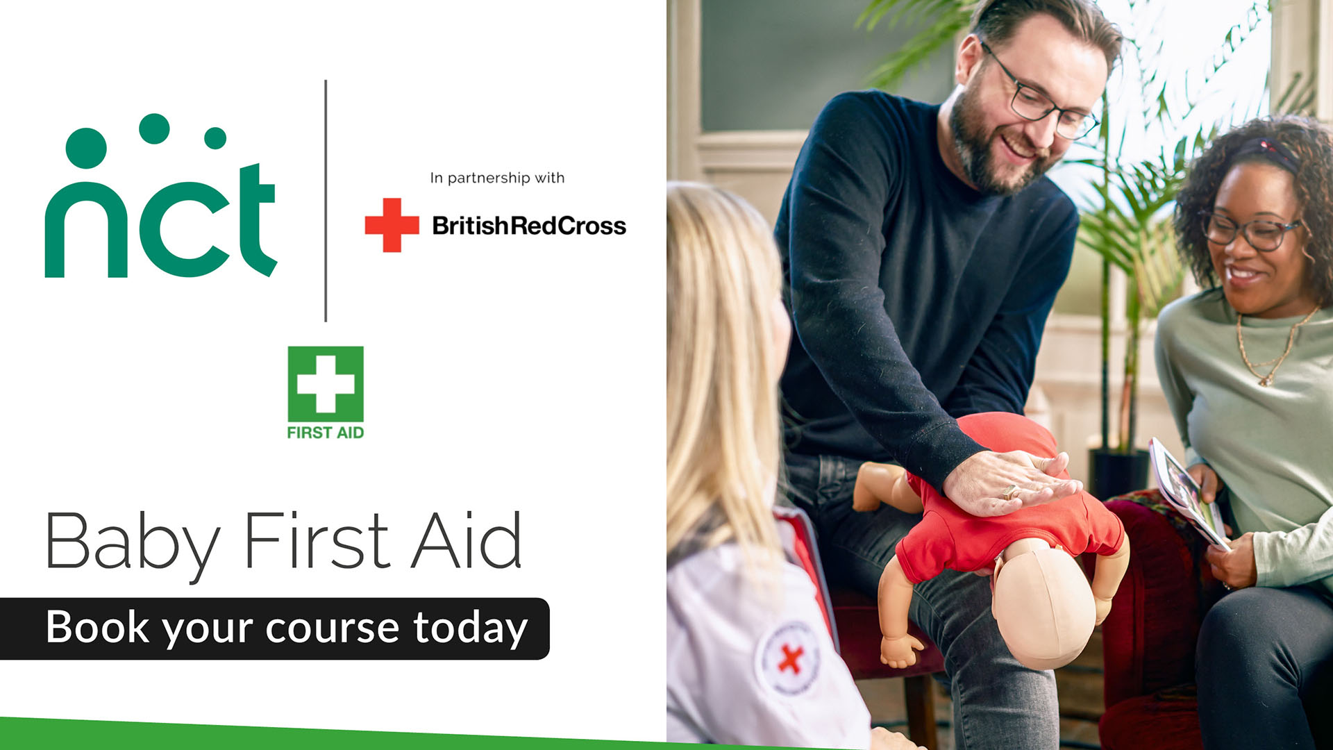First Aid Course Baby Choking Image
