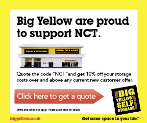Big Yellow are proud to sponsor NCT