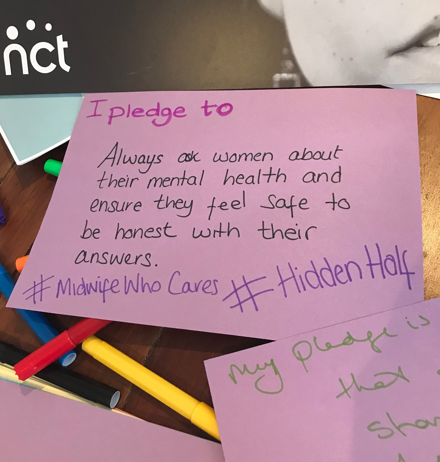 HiddenHalf event 2018 pledges