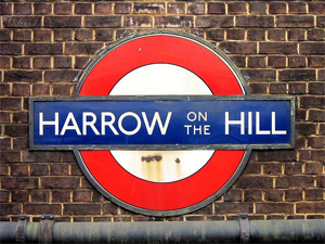 Harrow tube sign