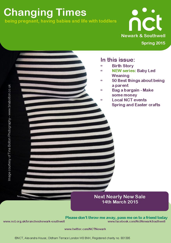 NCT Newark Spring 2015 newsletter
