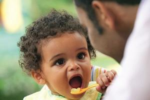 Teething and eating
