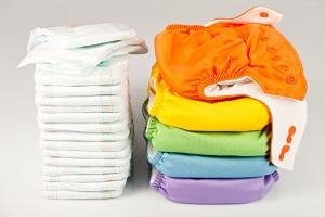 Reusable nappies or disposable nappies?