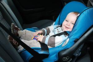 Driving with your baby