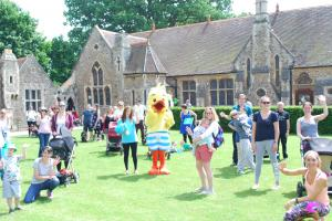 NCT Abingdon Big Push sponsored walk