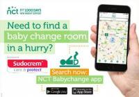 Get our free Babychange app today