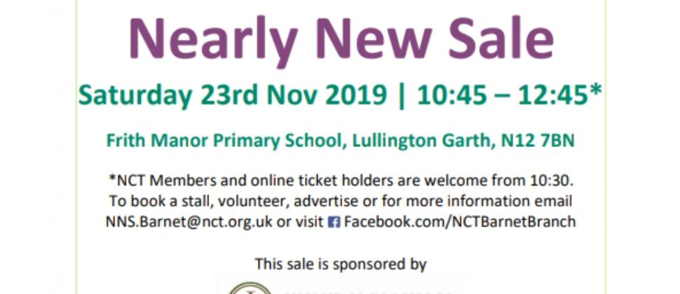NCT Barnet Nearly New Sale