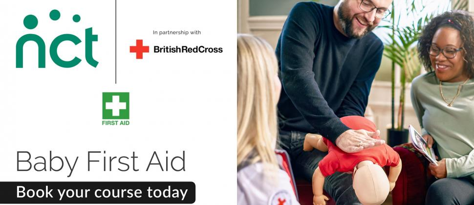 Online NCT Baby & Child First Aid course with British Red Cross
