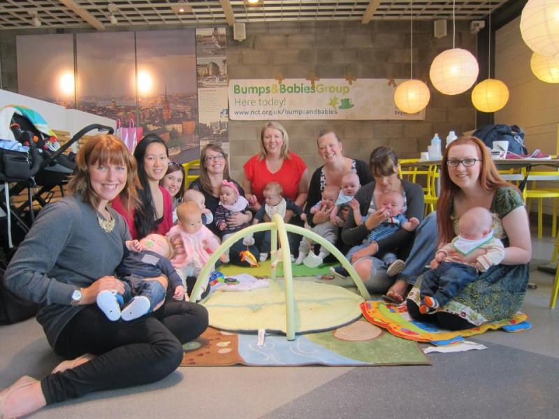 Mums and Babies at Ikea bumps and babies group