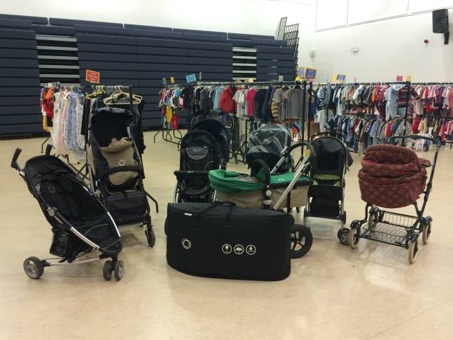 Nearly New Sale buggies and clothes